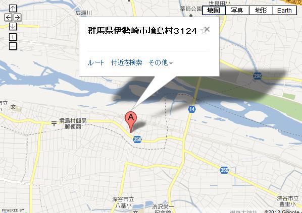 町田ファームの地図